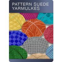 Pattern Suede Yarmulkes