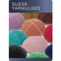 Suede Yarmulkes